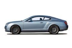 голубой свет coupe стоковые изображения rf