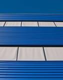 голубой серый цвет фасада Стоковые Изображения RF