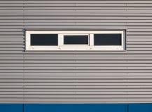голубой серый цвет фасада Стоковая Фотография RF
