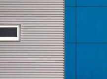 голубой серый цвет фасада Стоковое Изображение RF
