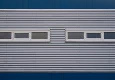 голубой серый цвет фасада Стоковая Фотография