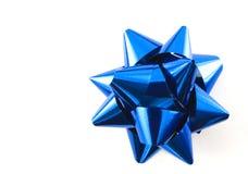 голубой смычок Стоковые Фотографии RF