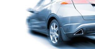 голубой спорт автомобиля Стоковое фото RF