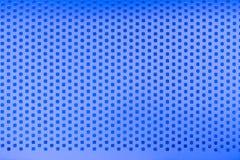 Голубой стальной фон текстуры картины отверстия стоковые изображения rf