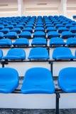 голубой стул Стоковое фото RF