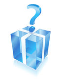 голубой сярприз Стоковая Фотография RF