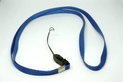 Голубой талреп значка на голубой предпосылке стоковые фотографии rf