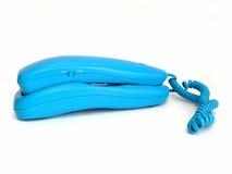 голубой телефон стоковые изображения