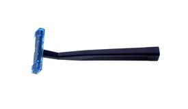 голубой темный брить бритвы стоковая фотография