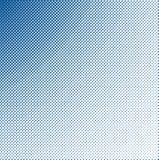 голубой темный halftone Стоковое Изображение