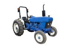 голубой трактор Стоковое Изображение