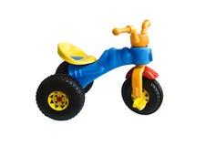 голубой трицикл Стоковое Изображение