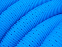 голубой трубопровод Стоковое фото RF
