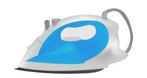 Голубой утюг   Стоковое Изображение RF
