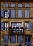 голубой фасад Стоковое фото RF