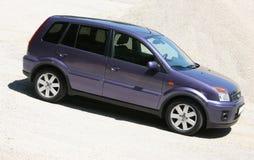 голубой фургон Стоковое фото RF