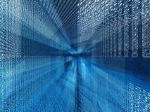 голубой цифровой путать Стоковое фото RF