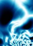 голубой шторм конструкции клетки Иллюстрация вектора