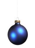 Голубой bauble Стоковые Фото