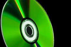 голубой cd луч dvd диска компьютера Стоковые Изображения RF