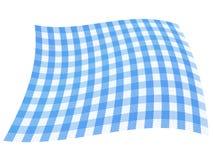 голубой checkered флаг Стоковое Фото
