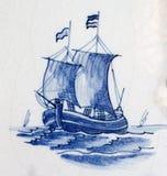 голубой delft стоковые изображения