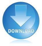 голубой download иллюстрация штока
