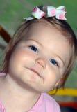 голубой eyed вид Стоковые Изображения RF