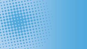 голубой halftone многоточий Стоковые Изображения RF