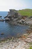 голубой laguna Стоковые Фотографии RF