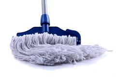 голубой mop стоковое изображение rf