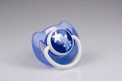 голубой pacifier Стоковые Фото