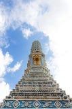 голубой pagoda стоковые изображения rf