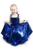 голубой princess реверанса Стоковые Фотографии RF