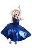 голубой princess реверанса Стоковое фото RF