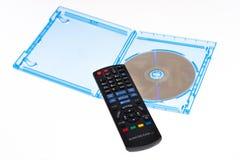 голубой remote луча диска управления Стоковая Фотография