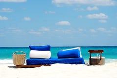 голубой seating Стоковые Изображения