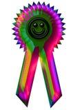 голубой smiley Стоковая Фотография RF