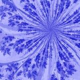 голубой twirl Стоковая Фотография