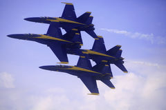 Голубые ангелы на Kaneohe Airshow Стоковое Фото