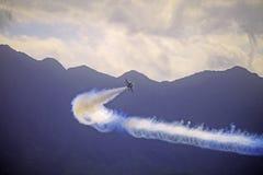 Голубые ангелы на Kaneohe Airshow Стоковая Фотография