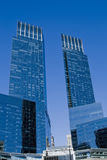 голубые башни Стоковая Фотография RF