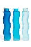 голубые бутылки Стоковое фото RF
