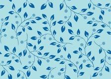 голубые ветви делают по образцу безшовный вектор иллюстрация вектора