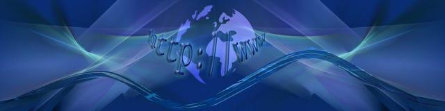голубые волны планеты интернета бесплатная иллюстрация