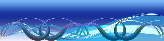 голубые волны соединений бесплатная иллюстрация