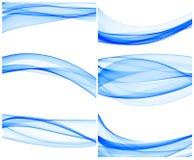 голубые волны Стоковая Фотография