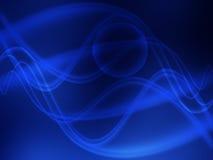 голубые волны Стоковые Изображения RF