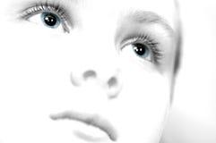 голубые глазы Стоковые Фотографии RF