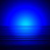голубые горизонты Стоковые Изображения